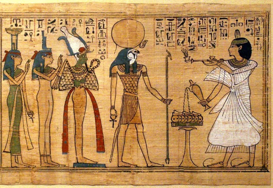 Proiect: Papirus egiptean (4 sedinte)