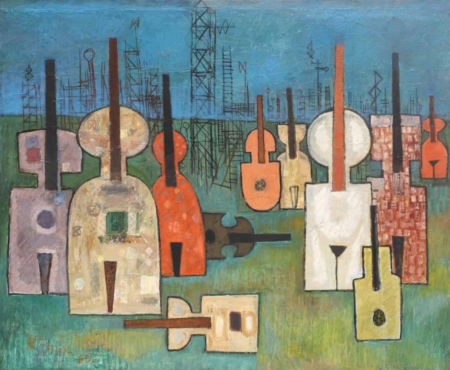Proiect: Muzicalitatea compoziției abstracte