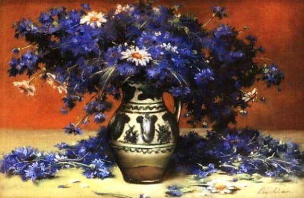 Proiect VI – Florile în pictura românească / 7 sedinte ( 26 aprilie – 7 iunie 2017)